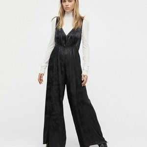 Free People Oversize Extreme Wide Leg Jumpsuit